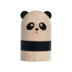 Pokladnička z bukového dreva OYOY Panda
