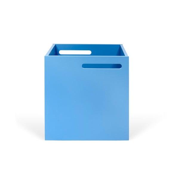 Modrý úložný box ku knižniciam TemaHome Berlin