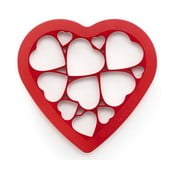 Silikonové vykrajovadlo Puzzle Hearts