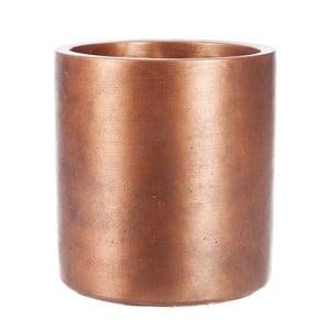 Kvetináč Copper Cer, 13x13 cm