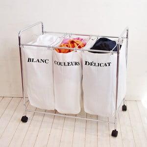 Delený kôš na bielizeň Compactor Organized Washing