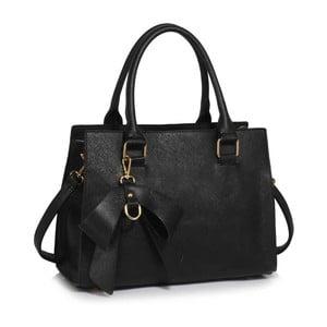 Čierna kabelka L & S Bags Ludmila