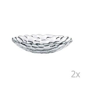 Sada 2 polievkových tanierov z krištáľového skla Nachtmann Sphere, ⌀ 25 cm