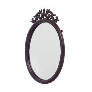 Zrkadlo Baroque Aubergine, 50x33 cm