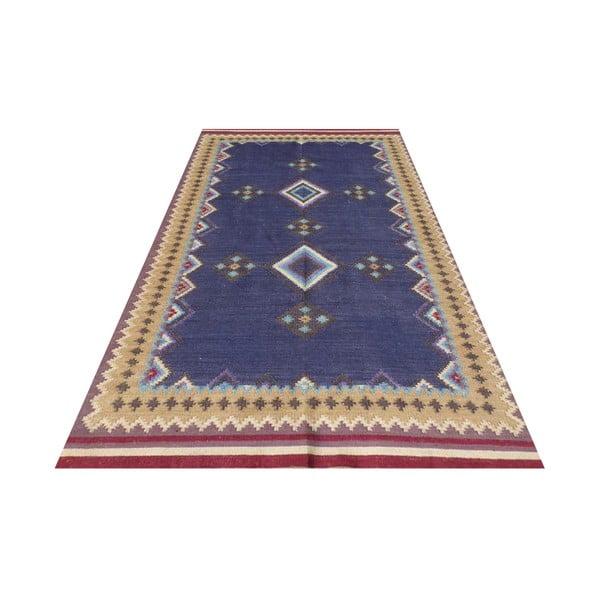 Vlnený koberec Kilim No. 729, 155x240 cm