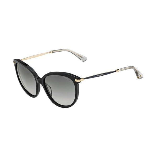 Slnečné okuliare Jimmy Choo Ive Black Glitter/Grey