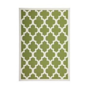Zelený koberec Kayoom Maroc 2087 Grun, 120×170 cm