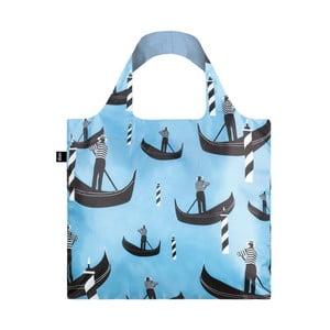 Skladacia nákupná taška skapsičkou LOQI Gondola
