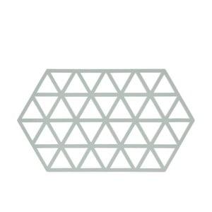 Modrosivá silikónová podložka pod horúce nádoby Zone Triangles