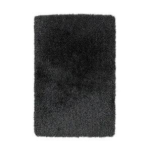 Tmovosivý ručne tuftovaný koberec Think Rugs Monte Carlo Grey, 100×150 cm