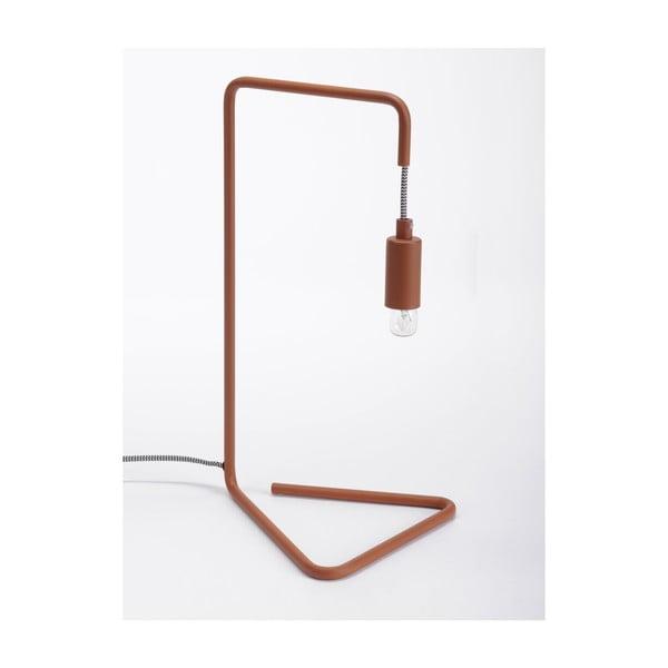 Hnedá stolová lampa ComingB  Bureau Lampe