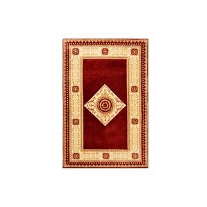 Vlnený koberec Bakero Vanilla/Red, 170x240 cm