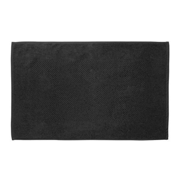 Čierna kúpeľňová predložka Galzone 80x50 cm