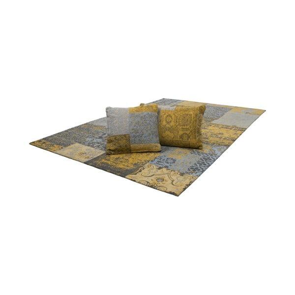 Vankúš Jacquard Gold, 40x60 cm