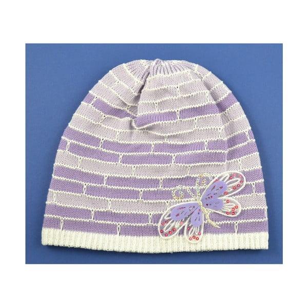 Dievčenská čapica Cegiel, fialková
