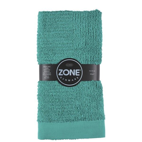 Osuška Zone Nefrit Green Classic, 100x50 cm