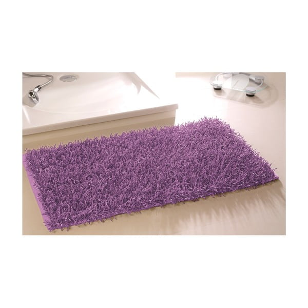 Kúpeľňová predložka Metallic Look Violet, 60x100 cm