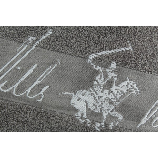 Bavlnený uterák BHPC 50x100 cm, popolavý