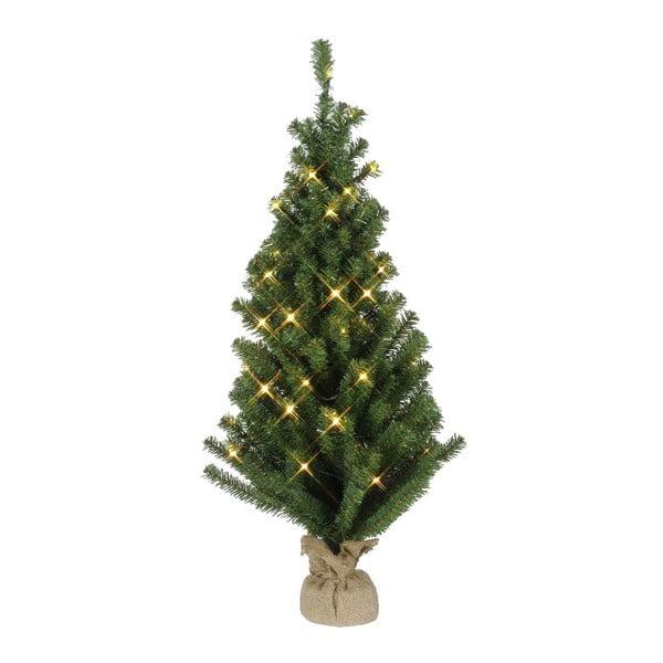 Svietiaca dekorácia Christmas Tree Jute