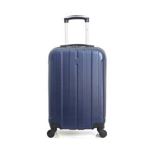 Modrý cestovný kufor na kolieskach Hero Fogo, 36l
