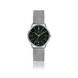Unisex hodinky z antikoro ocele s čiernym ciferníkom Frederic Graff William