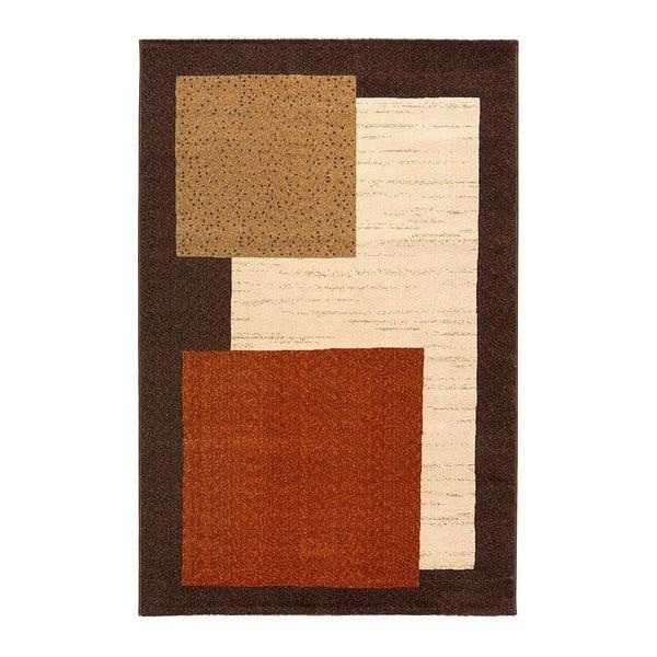 Vlnený koberec Iris 803 Marron, 120x160 cm