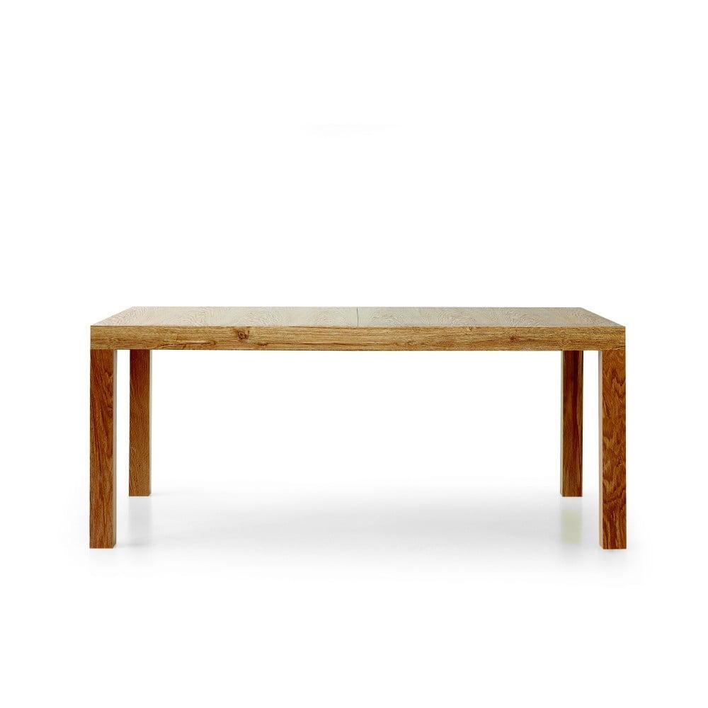 Rozkladací jedálenský stôl z bukového dreva Castagnetti Kao, 160 cm