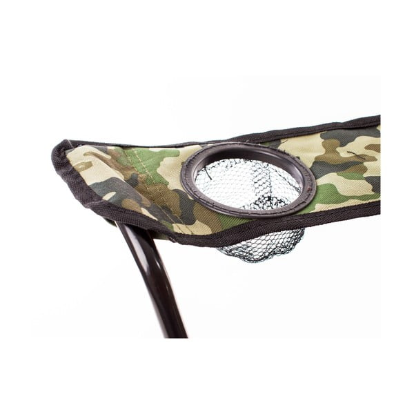 Rybárske kresielko Fish, maskáčové