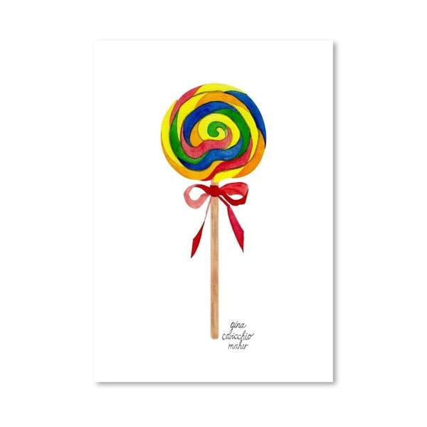 Autorský plagát Lollipop, 30x42 m
