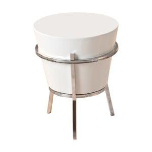 Biely odkladací stolík 13Casa Relaxar