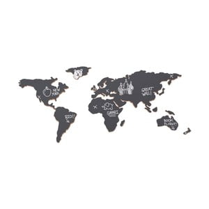 Nástenná tabuľa Mapa sveta