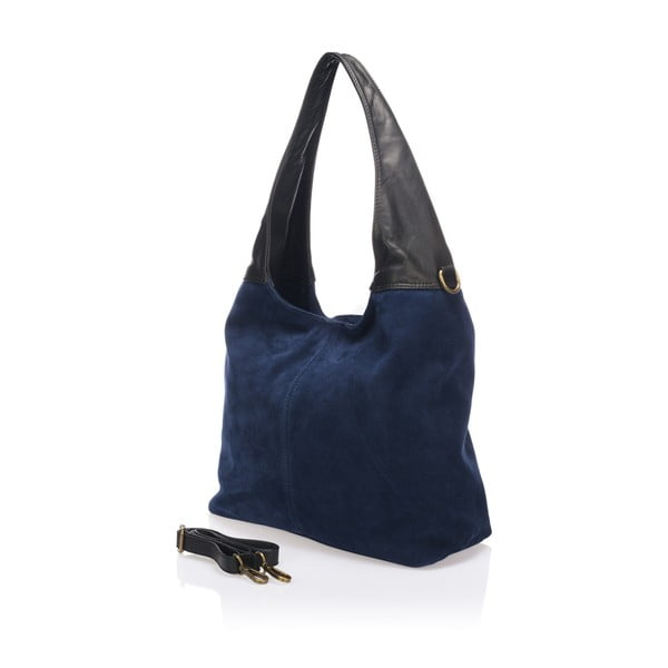 Kožená kabelka Maya, modrá