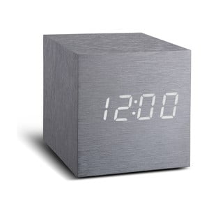 LED budík Click Clock Maxi White