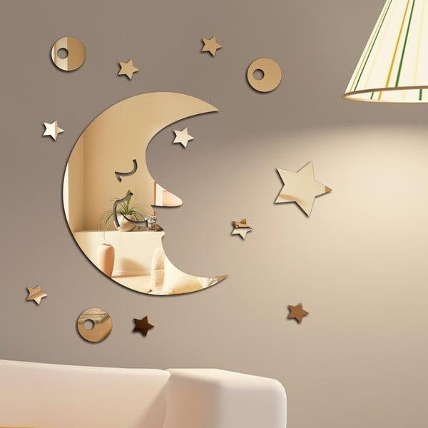 Dekoratívne zrkadlo Mesiačik