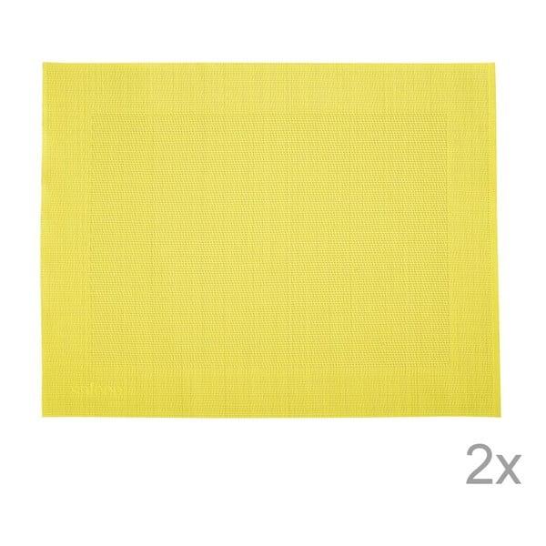 Sada 2 prestieraní Saleen Yellow, 30x40 cm