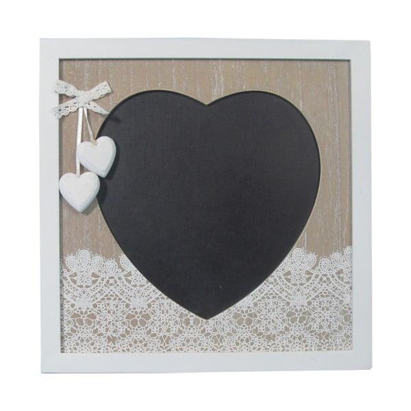 Nástenná tabuľa Bolzonella v tvare srdca