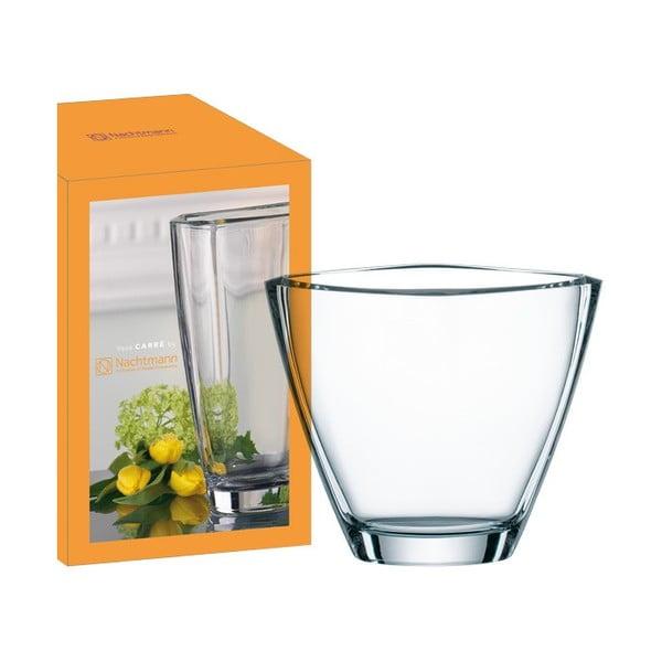 Váza z krištáľového skla Nachtmann Carré, výška 18.8 cm