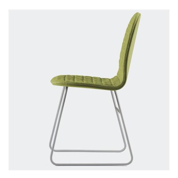 Stolička Mannequin Triangel, zelená