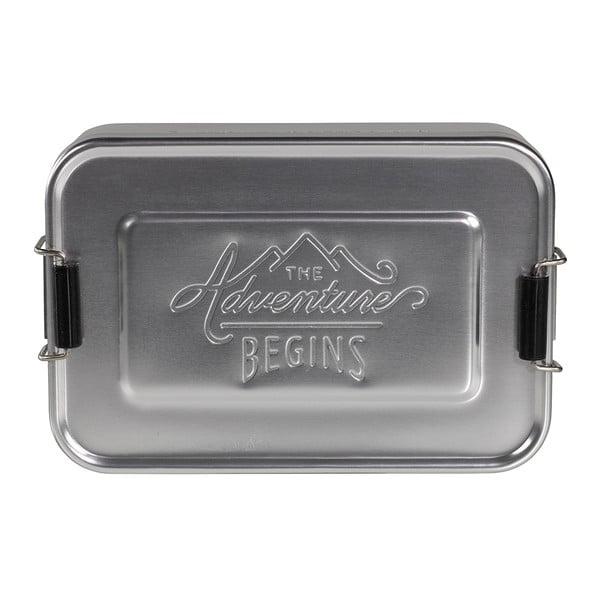 Box na desiatu Gentlemen's Hardware Silver Tin