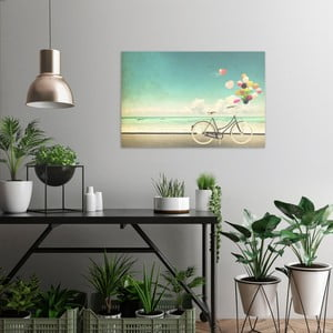 Obraz na plátne OrangeWallz Bike, 60 x 90 cm