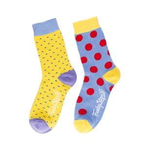 Sada 2 párov unisex ponožiek Funky Steps Acarnanus, veľkosť 39/45