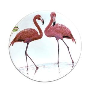 Keramický tanier Flamingo, ⌀ 25 cm
