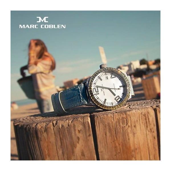 Dámske hodinky Marc Coblen s remienkom a krúžkom na ciferník naviac P78