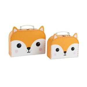Sada 2 kufríkov Sass & Belle Hiro Fox Kawaii