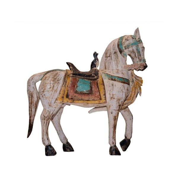 Teakový koník India, 70 cm