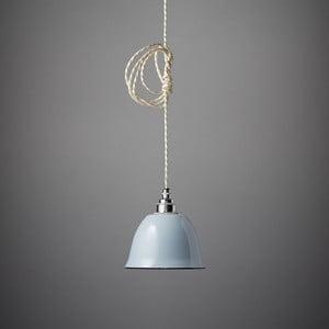Závesné svetlo Miniature Bell Grey