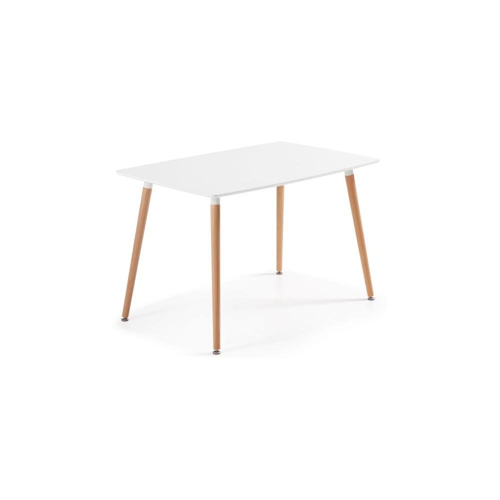 Jedálenský stôl z bukového dreva La Forma Daw, 75 × 120 cm