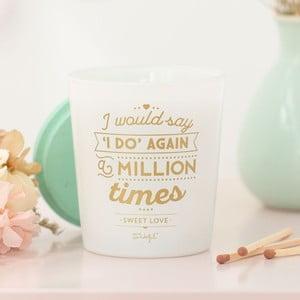 Sviečka s vôňou sladkostí Mr. Wonderful I do, 15 hodin hoření