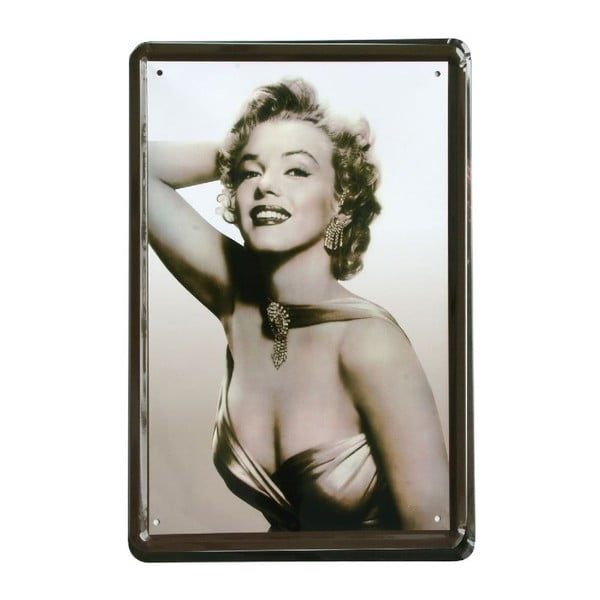 Ceduľa Marilyn Monroe, 20x30 cm