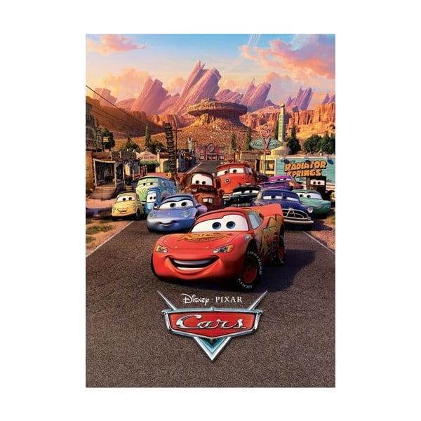 Veľkoformátová tapeta Disney Cars, 158x232 cm